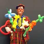 Nieuw! Ballonnenclown Piet Miko