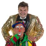 Ome Ron & clown Miko